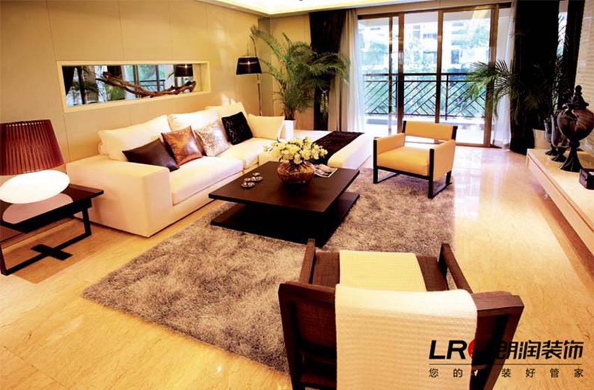 现代 简约 舒适 温馨 清爽 二居 87平 客厅图片来自用户5156624388在87平温馨舒适现代二居的分享