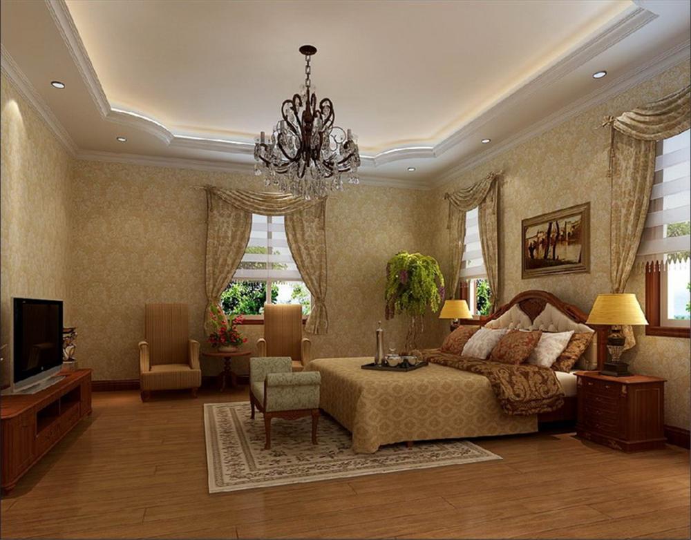 别墅 收纳 80后 卧室图片来自实创装饰完美家装在朴实美式乡村风吹向孔雀城大宅的分享