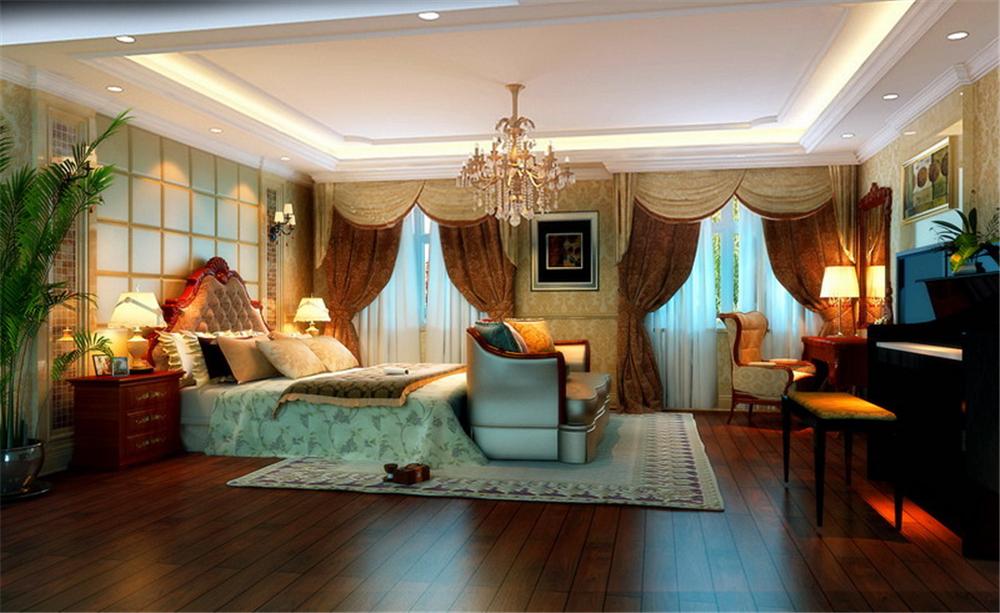 欧式 三居 别墅 白领 收纳 80后 小资 卧室图片来自实创装饰完美家装在个性彰显豪情奔放无限畅享的分享