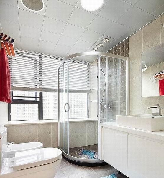三居 简约 卫生间图片来自成都金煌装饰在韵味清新时尚又不缺温馨的家的分享