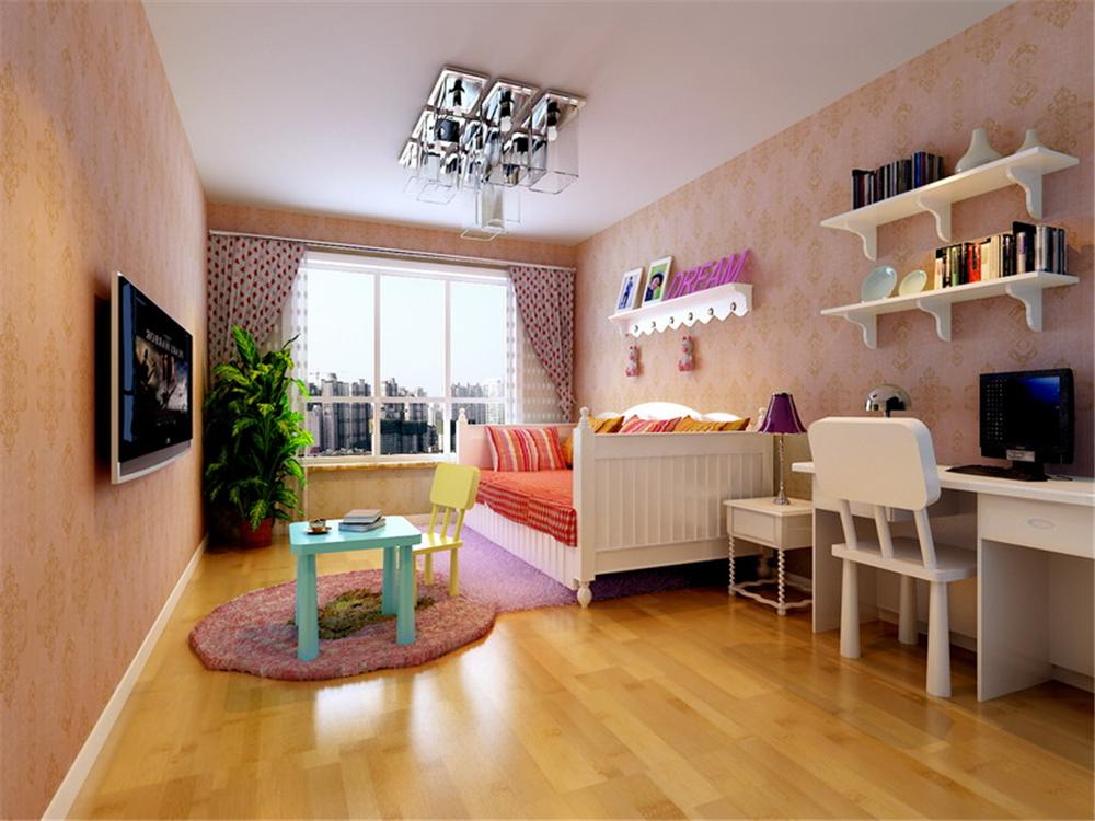 三居 白领 收纳 80后 儿童房图片来自实创装饰完美家装在简洁明快实用大方 大气恢弘的分享