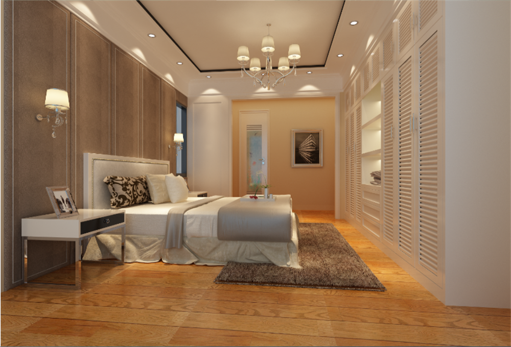 卧室图片来自深圳市浩天装饰在现代风格的分享