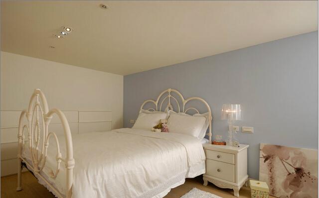 简约 田园 混搭 二居 旧房改造 卧室图片来自上海倾雅装饰有限公司在蓝色港湾的分享
