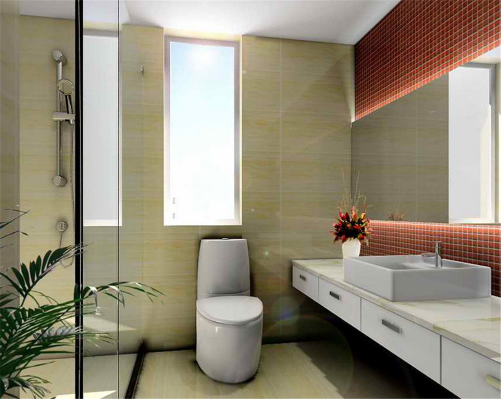 简约 二居 白领 收纳 卫生间图片来自实创装饰完美家装在少就是多,简洁就是丰富的分享