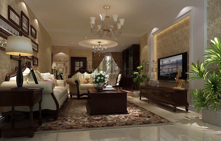 世华泊郡 三室两厅 现代简约 130平米 3.8万元 高度国际 希文 客厅图片来自高度国际装饰宋增会在休闲丶舒适主题的分享