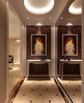 影人四季 高度国际 现代 简约 三居 公寓 白领 80后 屌丝 玄关图片来自北京高度国际装饰设计在影人四季现代简约平层公寓的分享