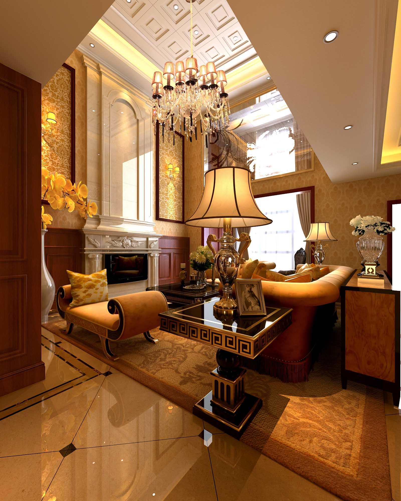 欧式 别墅 80后 白领 客厅图片来自今朝李小慢在运河城--欧式奢华的分享