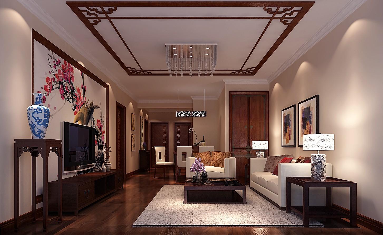 新中式 二居 小资 80后 北京装修 高度国际 客厅图片来自高度国际装饰华华在完美新中式的分享
