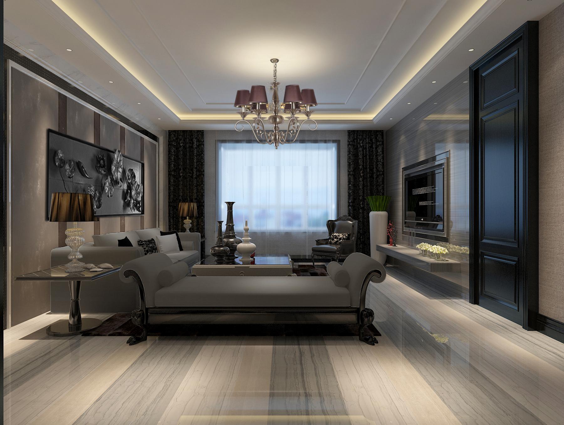 简约 欧式 混搭 三居 小资 客厅图片来自白翔宇-易百装饰在后现代混搭的分享