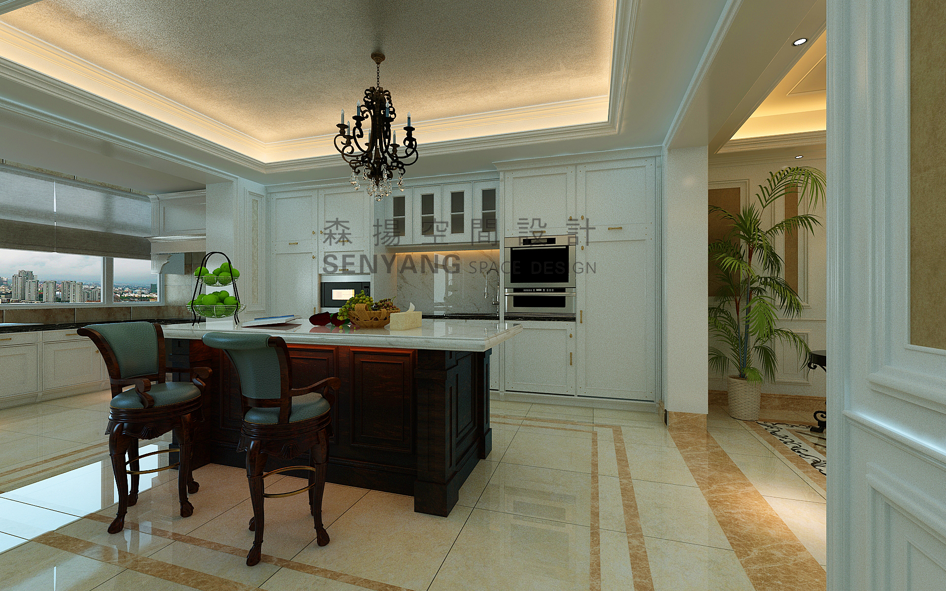 厨房图片来自邱豪在金业苑的分享