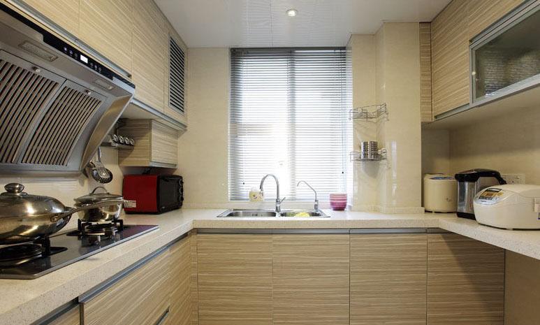 简约 现代简约 和平盛世 三居 厨房图片来自合肥川豪装饰装修在和平盛世110平米现代简约风格的分享