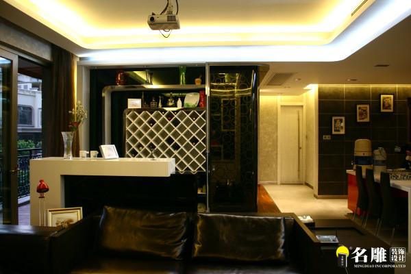 名雕装饰设计--香瑞园--现代简约-酒柜
