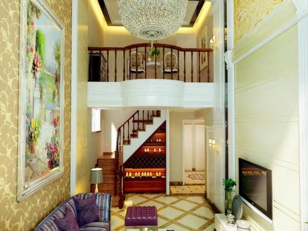 跃层客厅装修设计装修效果图展示