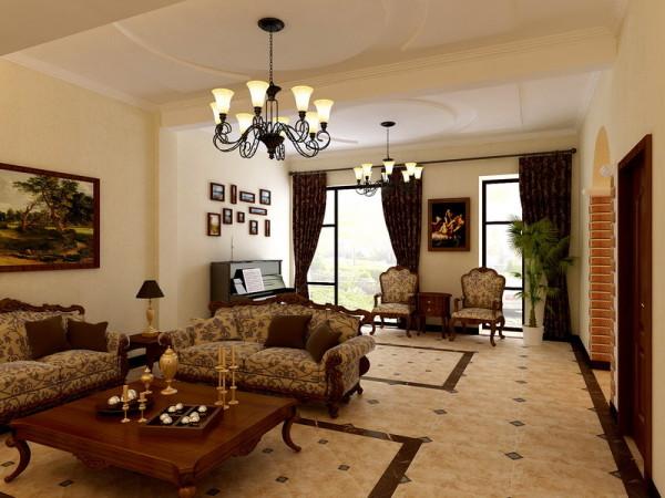 碧水庄园320平米欧式风格别墅