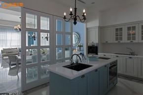新古典 别墅 白领 四居 欧式 舒适 厨房图片来自幸福空间在淡淡悠蓝的新古典华美内涵的分享