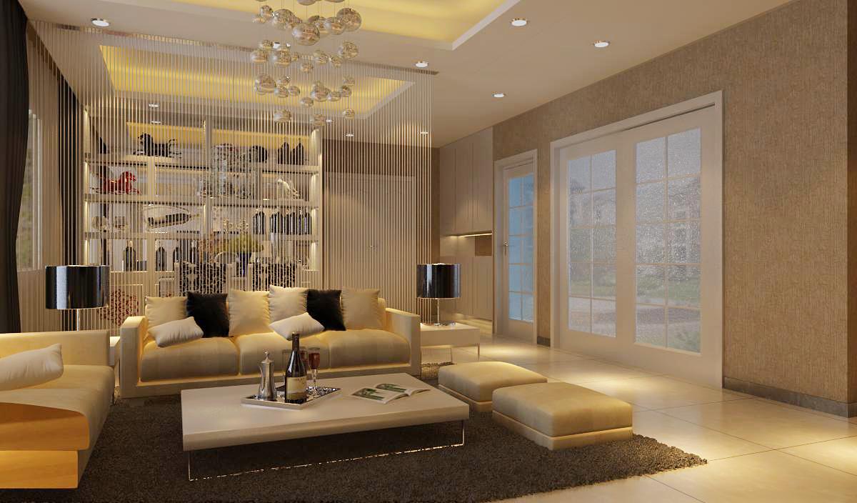 简约 现代简约 和平盛世 三居 客厅图片来自合肥川豪装饰装修在和平盛世110平米现代简约风格的分享