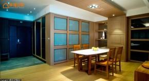 自然 混搭 三居 舒适 玄关图片来自幸福空间在自然温润215平品味居宅的分享