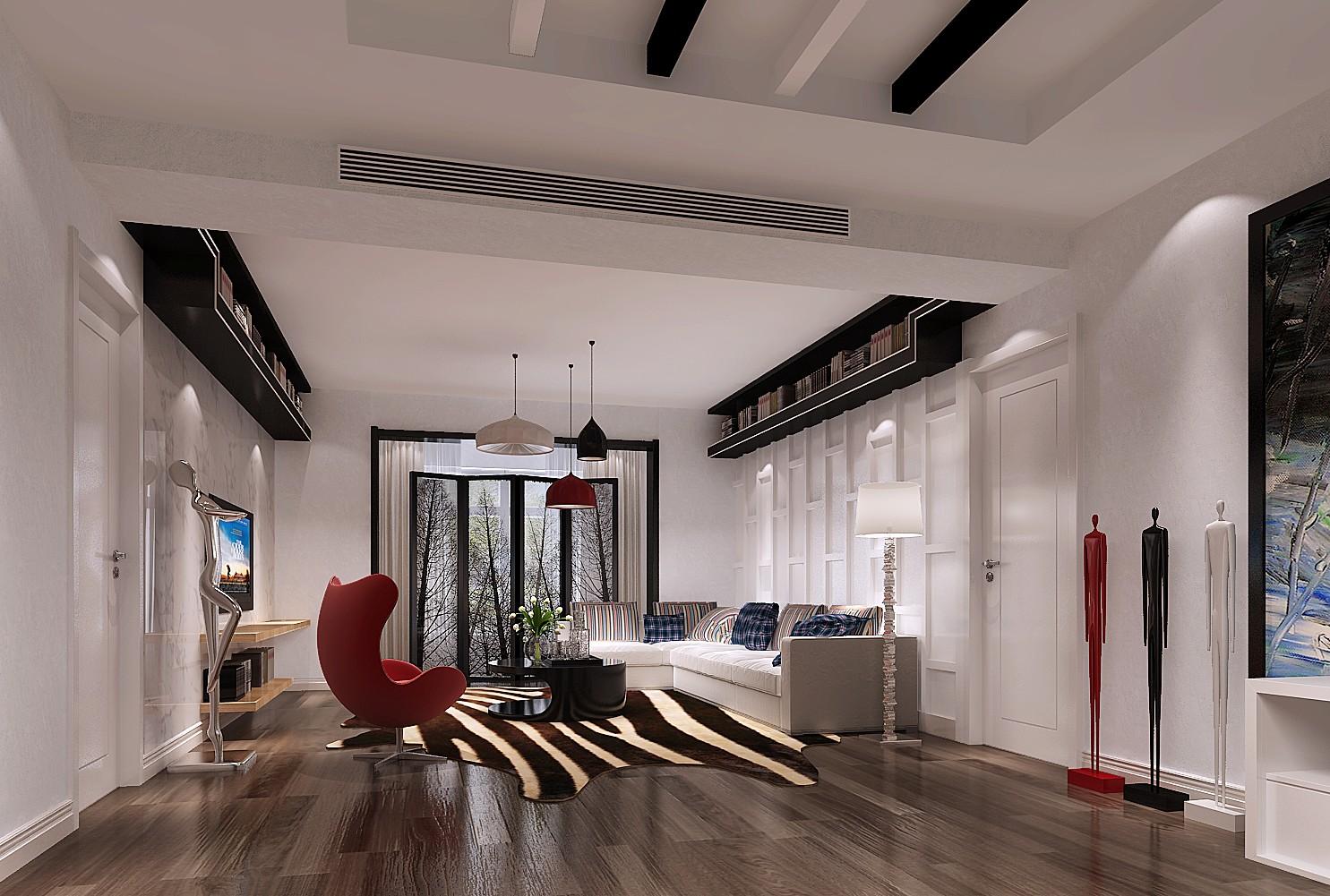 金科王府 高度国际 二居 三居 简约 现代 白领 80后 白富美 客厅图片来自北京高度国际装饰设计在金科王府现代简约超凡脱俗的分享