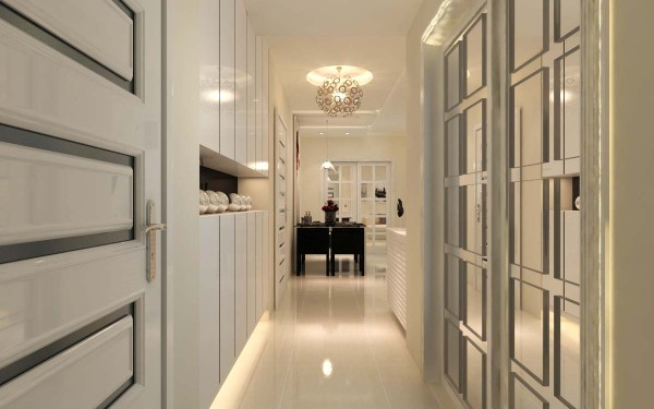 幸福大道100平 现代风格 3.3万   走廊