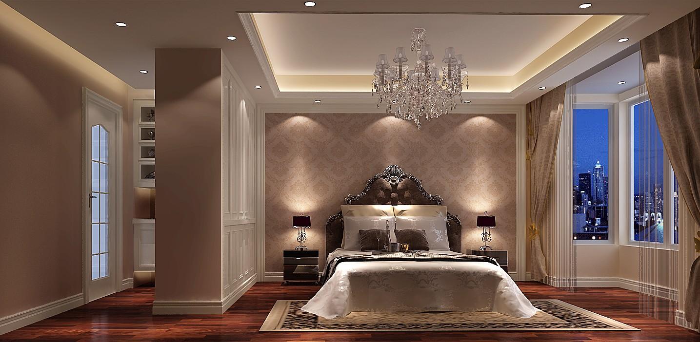 简约 欧式 三居 白领 北京装修 高度国际 装修报价 卧室图片来自高度国际装饰华华在华贸城简欧设计的分享