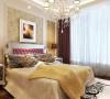 骏景家园-140平米欧式装修设计-卧室效果图