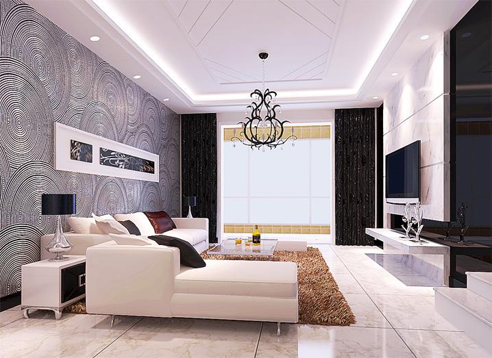 简约 三居 客厅 卧室 餐厅 旧房改造图片来自北京实创集团在国际城的分享