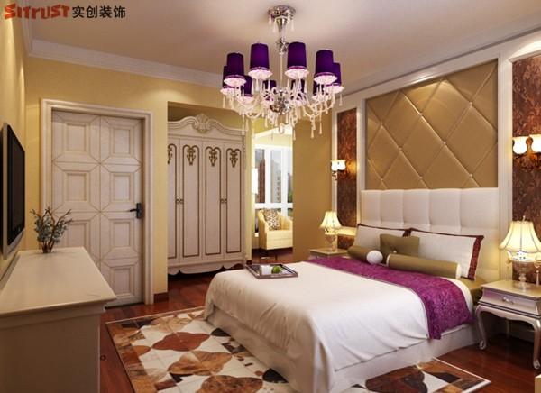 名门华都-158平米欧式装修风格-卧室效果图