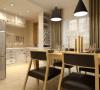 卓达三期-138平米现代简约装修设计-餐厅效果图