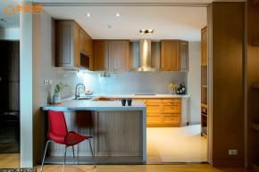 自然 混搭 三居 舒适 厨房图片来自幸福空间在自然温润215平品味居宅的分享