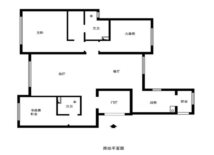 欧式 三居 白领 收纳 80后 小资 户型图图片来自shichuangyizu在徜徉集120平米简欧风格的分享