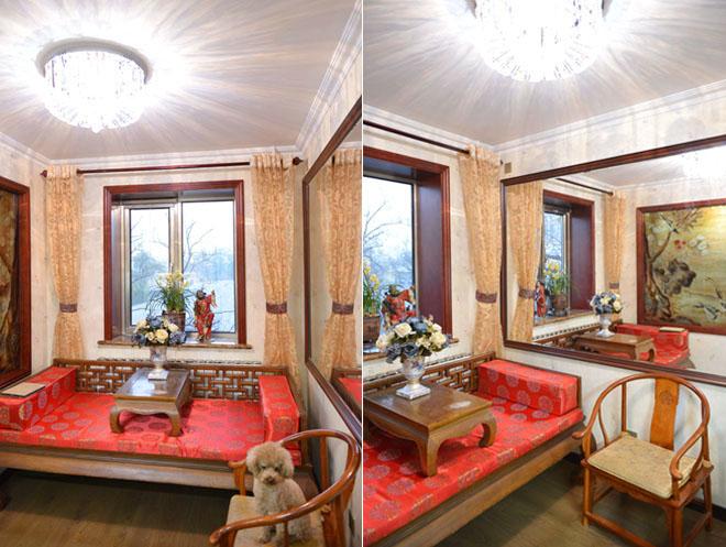 中式风格 学院路 老房改造 今朝装饰 两居室装修 客厅图片来自北京今朝装饰在中式风格装修---海淀区学院路的分享