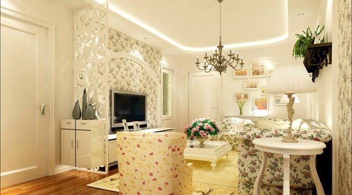 田园风格 菊园小区 旧房改造 收纳 今朝装饰 客厅图片来自北京今朝装饰在浪漫田园风格---菊园小区的分享