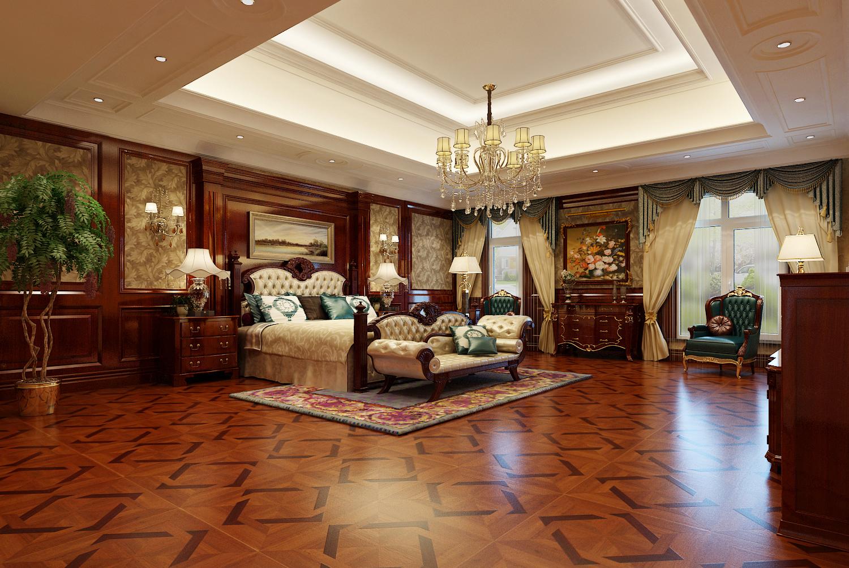 别墅 美式 欧式 奢华 卧室图片来自尚层装饰大林在伯爵府里的微笑--远洋天著的分享