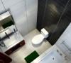 国际城-106平米现代简约装修-卫生间效果图