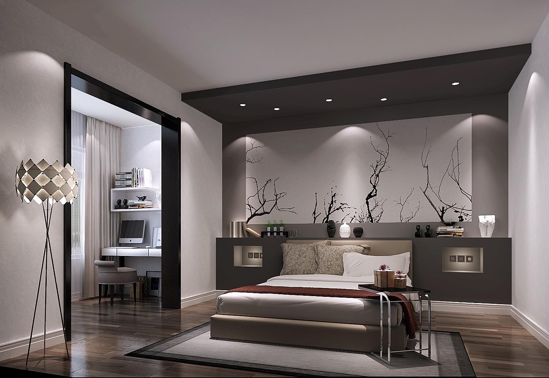 金科王府 高度国际 二居 三居 简约 现代 白领 80后 白富美 卧室图片来自北京高度国际装饰设计在金科王府现代简约超凡脱俗的分享