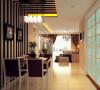珠峰国际-90.83平米现代简约装修设计-餐厅效果图