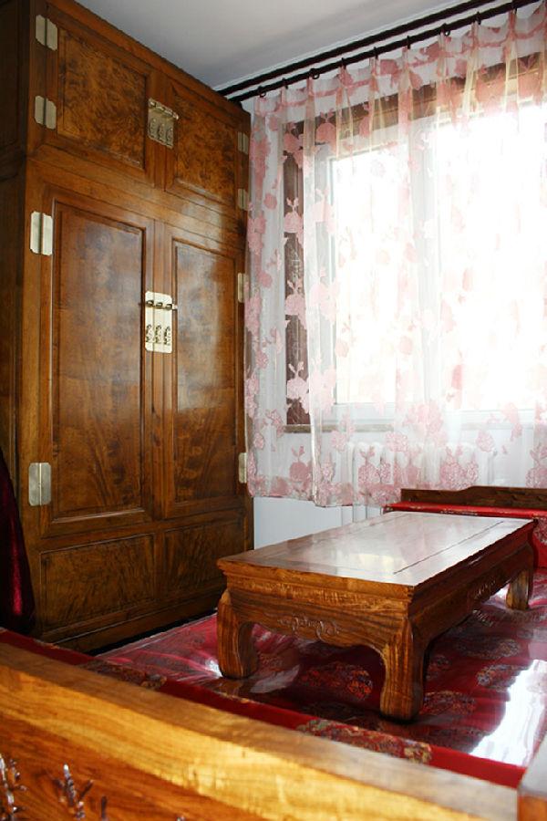 梧桐苑7号 中式风格 120平米新 今朝装饰 阳台图片来自北京今朝装饰在梧桐苑---中式风格装修的分享