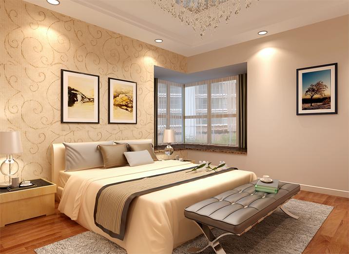 简约 三居 客厅 卧室 餐厅图片来自北京实创集团在卓达三期的分享