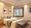 卓达三期-138平米现代简约装修设计-卧室效果图