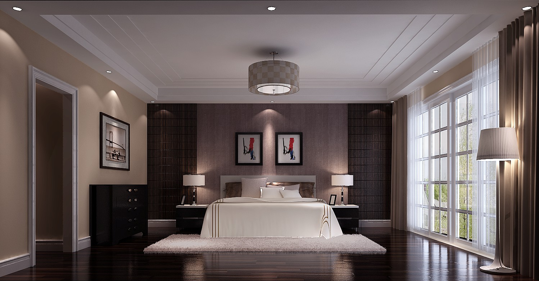 简约 欧式 别墅 小资 卧室图片来自高度国际装饰黄帅在粗狂也自然,简约更添亲切感的分享