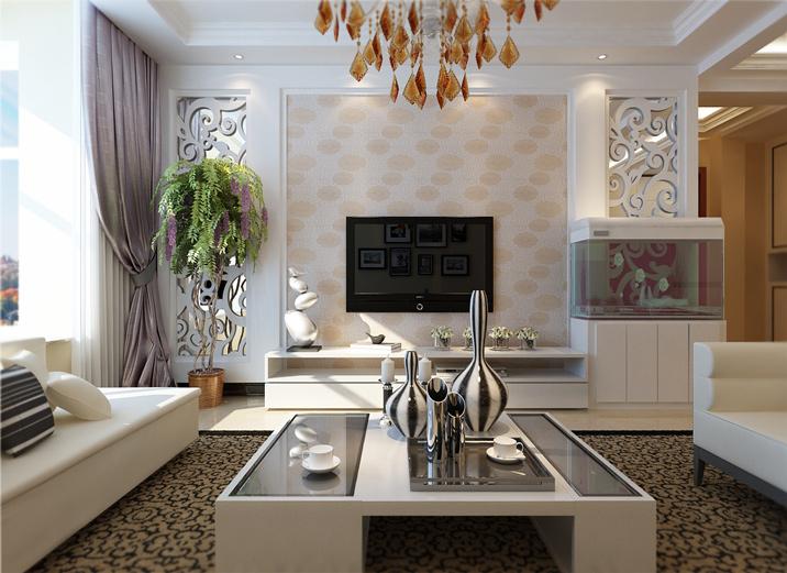 简约 三居 客厅 卧室 旧房改造图片来自北京实创集团在维多利亚的分享