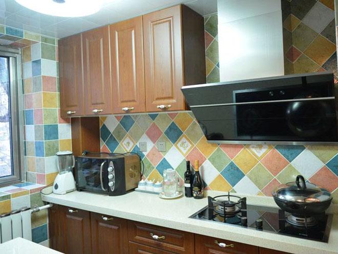 中式风格 学院路 老房改造 今朝装饰 两居室装修 厨房图片来自北京今朝装饰在中式风格装修---海淀区学院路的分享