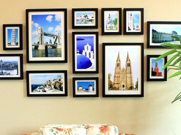 那些美死人的照片墙