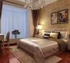 北郡-144平米现代简约风格-卧室效果图