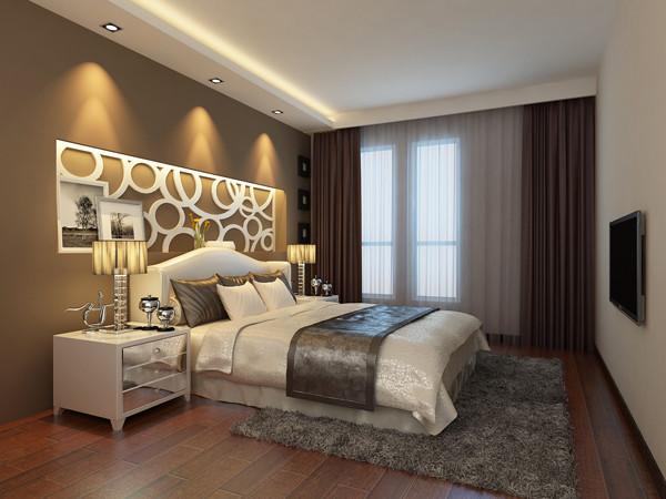 建邦华庭112平米---卧室效果图展示