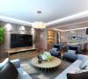 【中南世纪城】169平四居室装修效果图