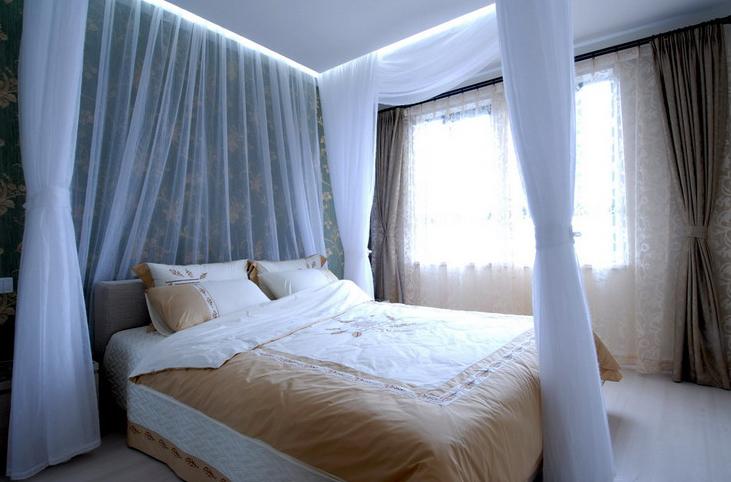 时尚简约风 当代清水园 二居 旧房改造 小资 卧室图片来自北京今朝装饰在当代清水园--时尚简约风的分享