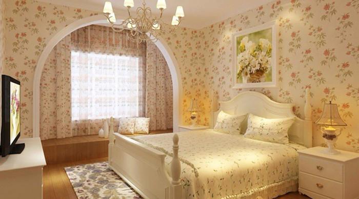 田园风格 菊园小区 旧房改造 收纳 今朝装饰 卧室图片来自北京今朝装饰在浪漫田园风格---菊园小区的分享