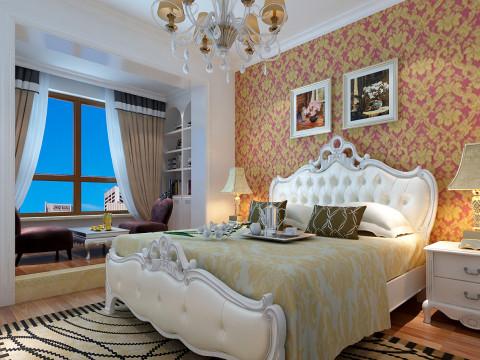 三居 简约 卧室图片来自彭哥彭哥在浪漫温馨简欧风格的分享