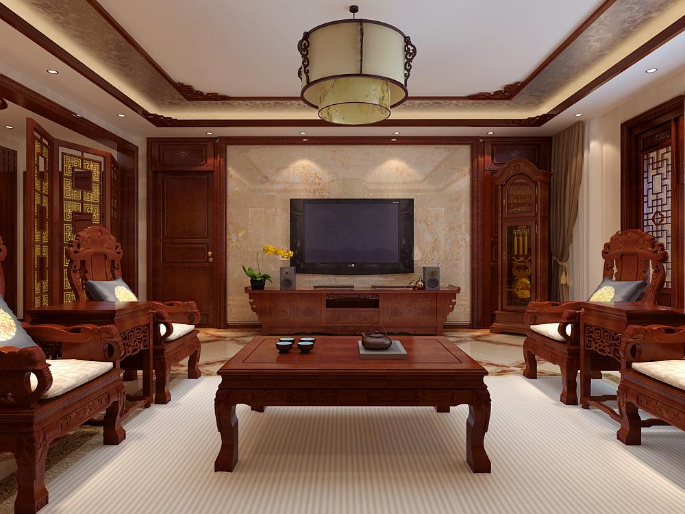 中式 客厅图片来自用户5176201511在建投十号院253中式装修设计的分享